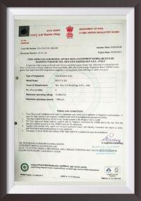 Dental X-Ray Best-X-Dc Certificates
