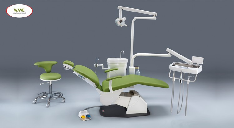 Wave Dental Chair Mount Unit